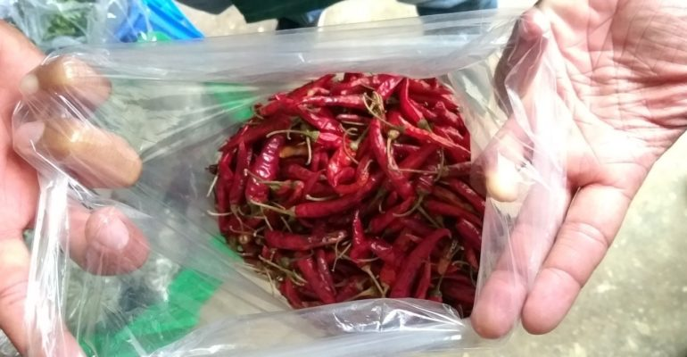 Red chilis from one of GreenPath's Partner Farms